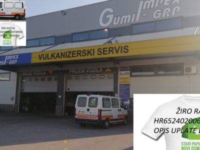 Gumiimpex-GRP, Donacija autoguma